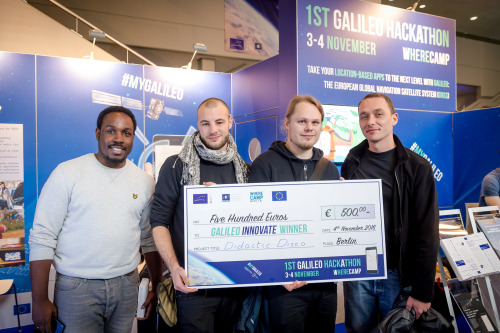 A Galielo Hackathon Winner Team