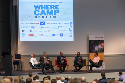 Opening Panel with (left to right)